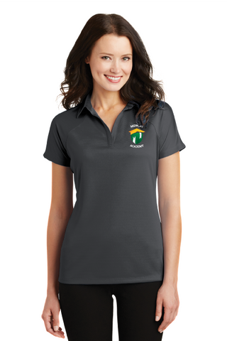Ladies Crossover Raglan Polo