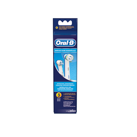 BRAUN ORAL-B LØSE BØRSTER - ORTHO CARE ESSENTIALS - TIL BØJLER