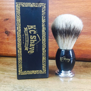 Atticus - Silvertip Badger Hair Shaving Brush For Less Irritation