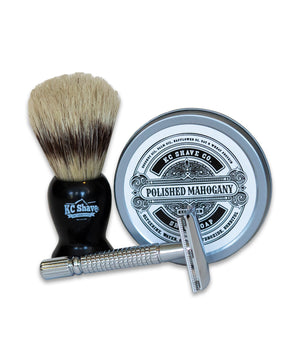 James - Silver Label Safety Razor Kit