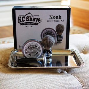 Noah - The Easy-To-Use Safety Razor Kit For Clean-Shaven Groomsmen
