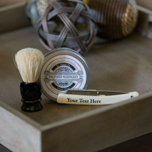 The best straight razor kit on the market with shave brush and shave soap