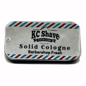 Men's solid cologne