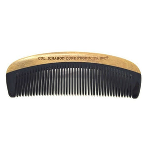 Beautiful Sandalwood and Horn beard comb.  Best beard care products.