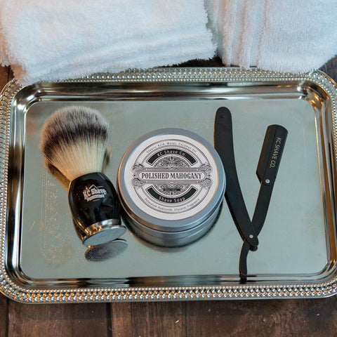 The closet shave your going to get short of going to a barbershop with the Bulldog shave kit