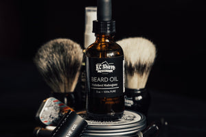 KC Shave Co. Beard Oil - Softens Beards, Reduces Dry Skin, & Smells Great