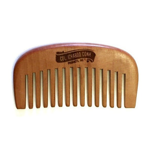 The best way to keep a beard looking good is to comb it regularly, and the wooden comb is perfect to prevent static and snagging hairs.