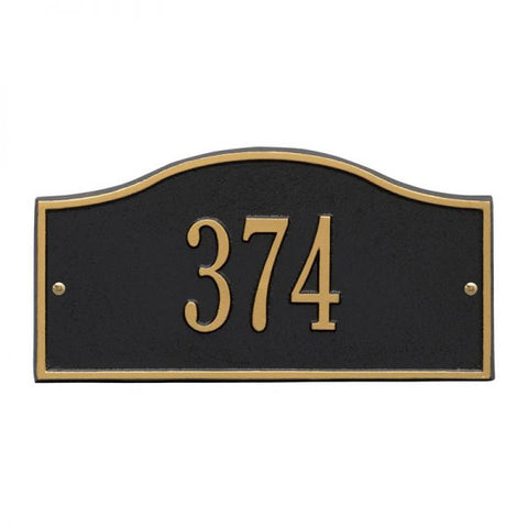 Address plaque Mini Rolling Hills marker 1052
