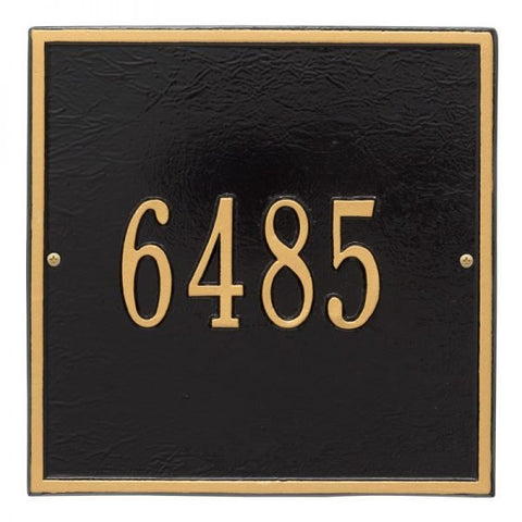 Address plaque Square petite, Whitehall 2109