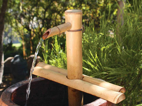 Bamboo Accents adjustable height Spout And Pump Kit