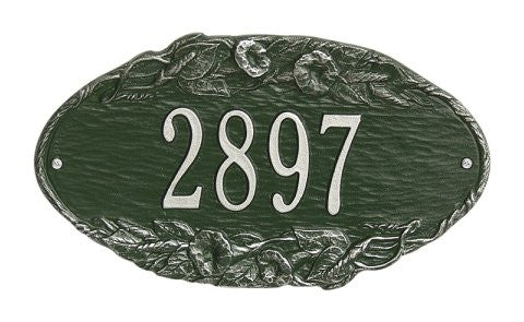 plaque oval