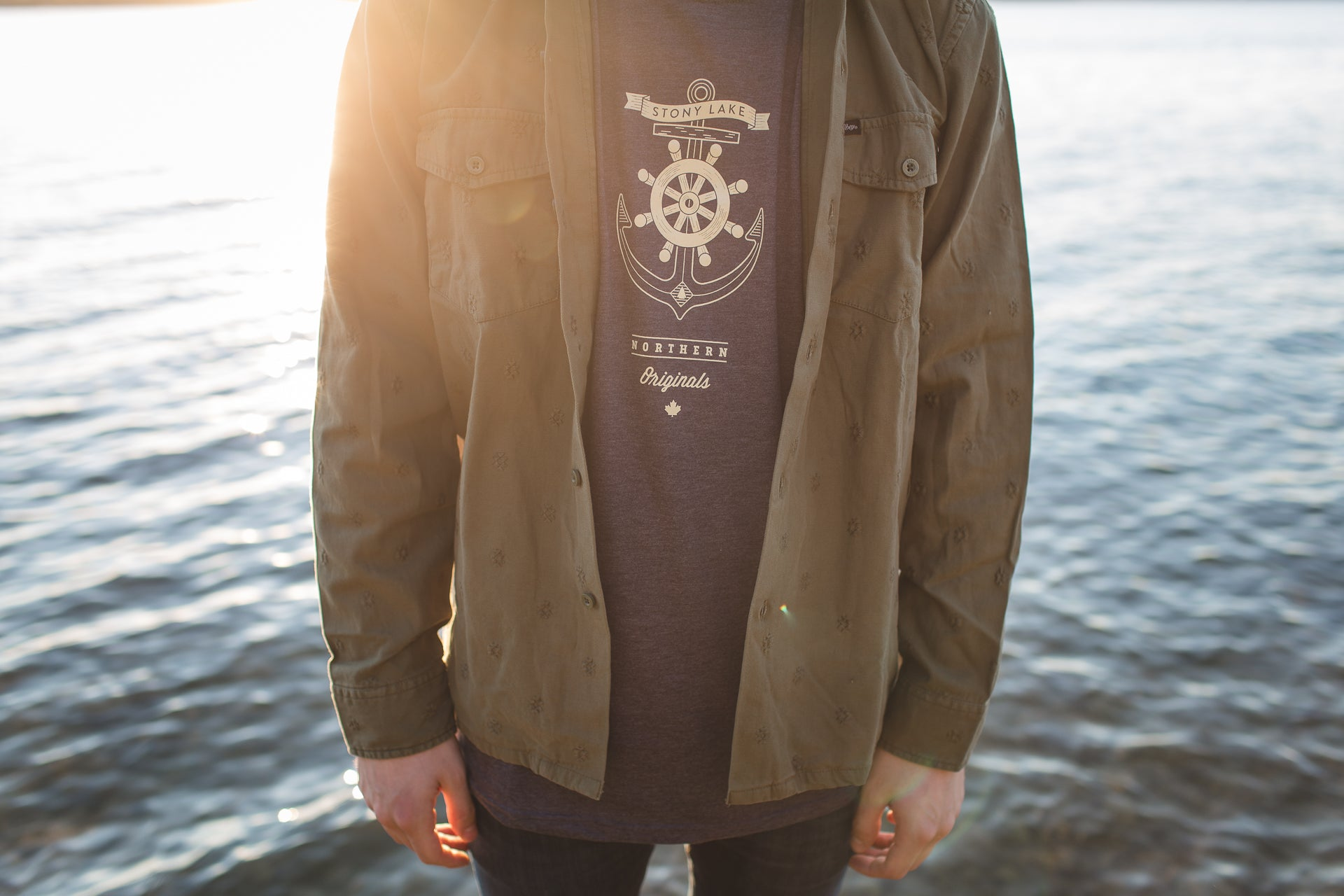 CROSSROADS - Stony Lake T-shirt