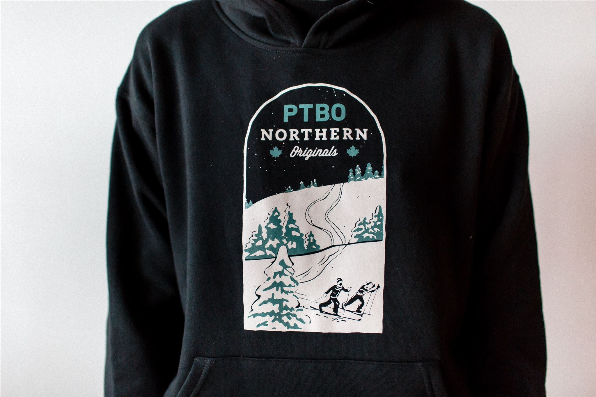 PTBO Northern Originals Skiing Hoodie