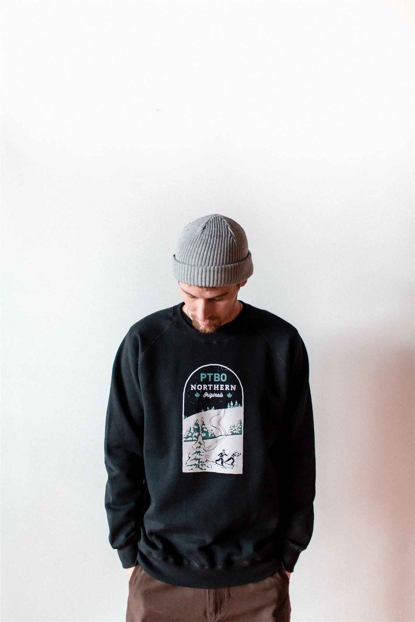 PTBO Northern Originals Ski Crewneck