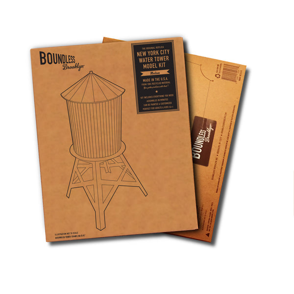 Boundless Brooklyn Water Tower Model Kit