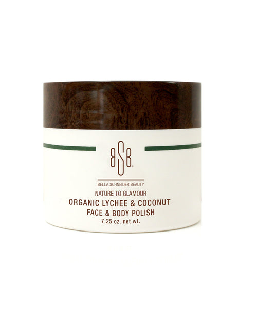 BSB	 NATURE TO GLAMOUR Organic Lychee & Coconut  face & body polish