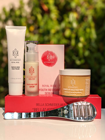 ROSES & GOLD FACIAL BLISS SET
