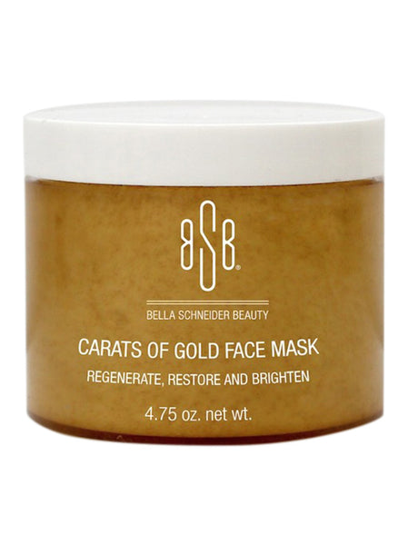 CARATS OF GOLD FACE MASK
