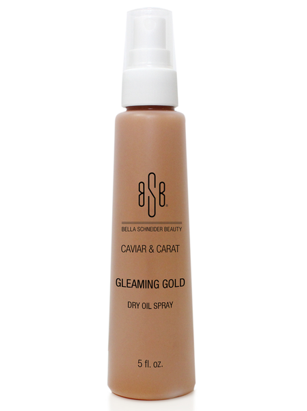 CAVIAR & CARAT GLEAMING GOLD DRY OIL SPRAY