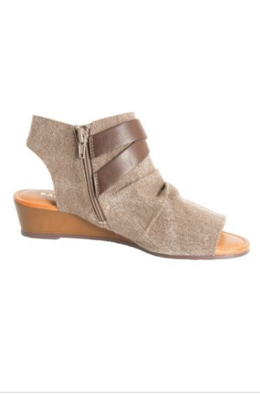 The Lennon Sandal in Taupe