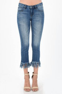 The Fringe Cropped Jean