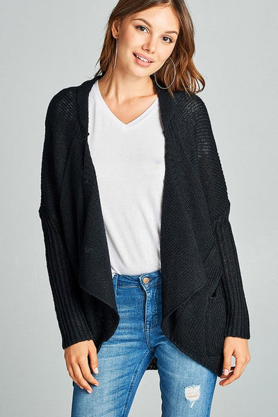 The Prim Cardigan in Black