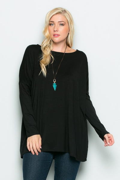 The Grace Top in Black