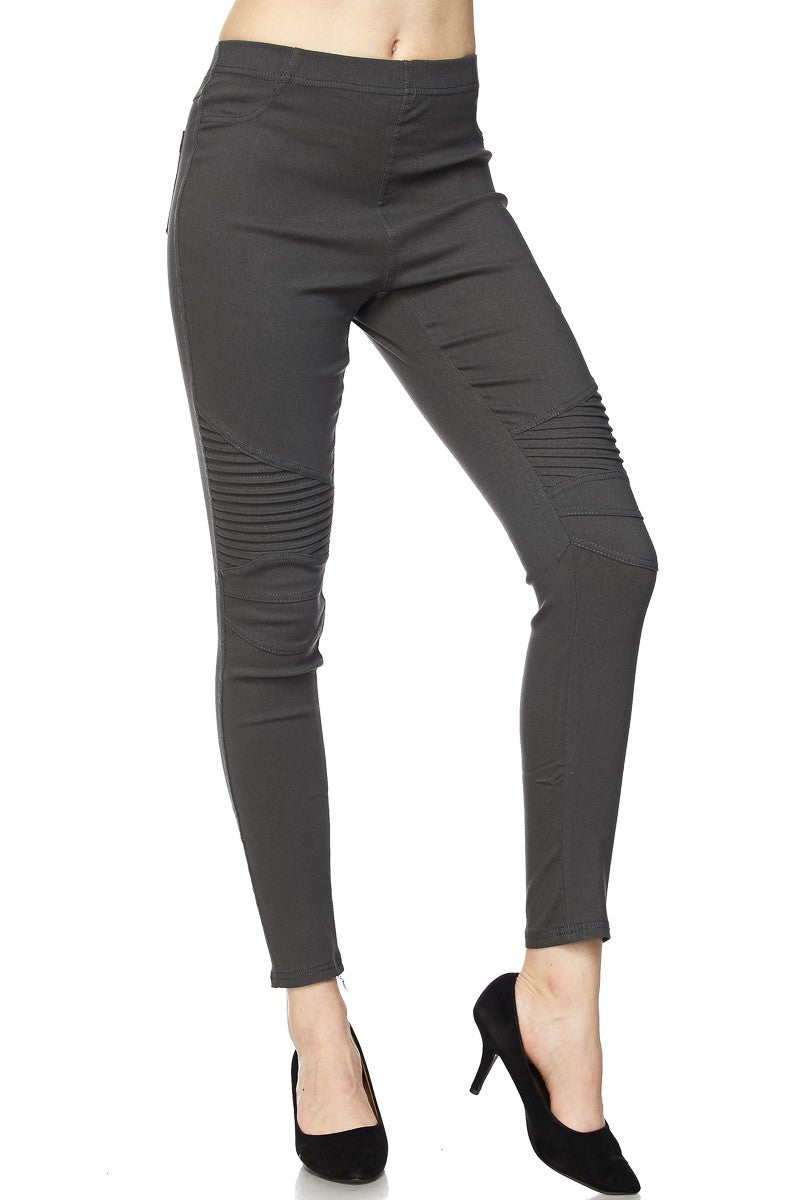 The Conner Moto in Charcoal