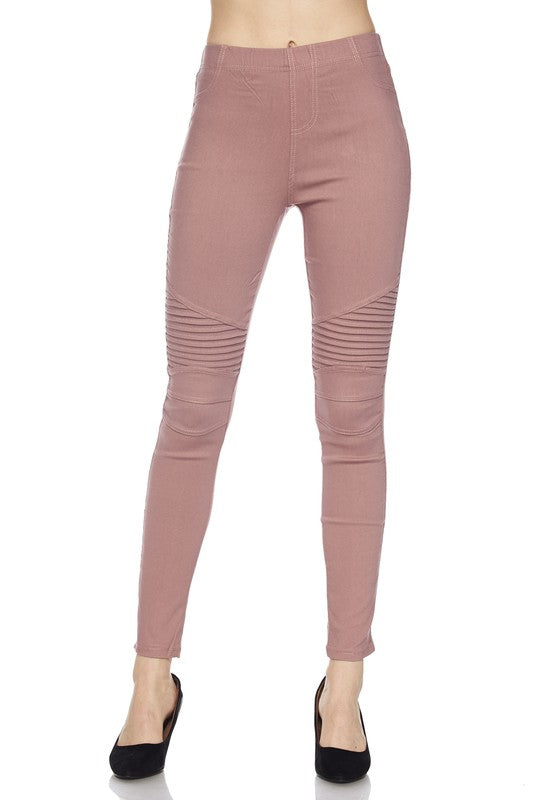 The  Conner Moto in Dusty Pink