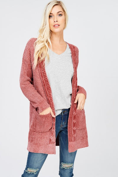 The Anna Cardigan in Ginger