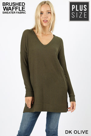 The Andi Top in Olive