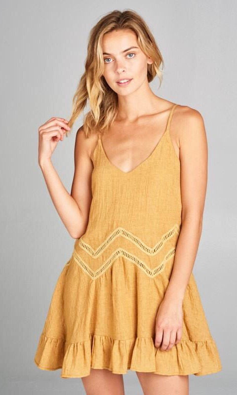 The Bianca Tunic in Mustard