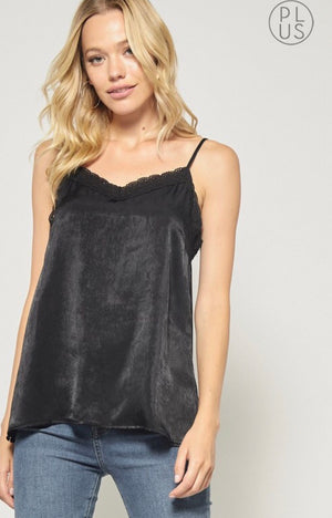 All About That Lace Camisole in Black