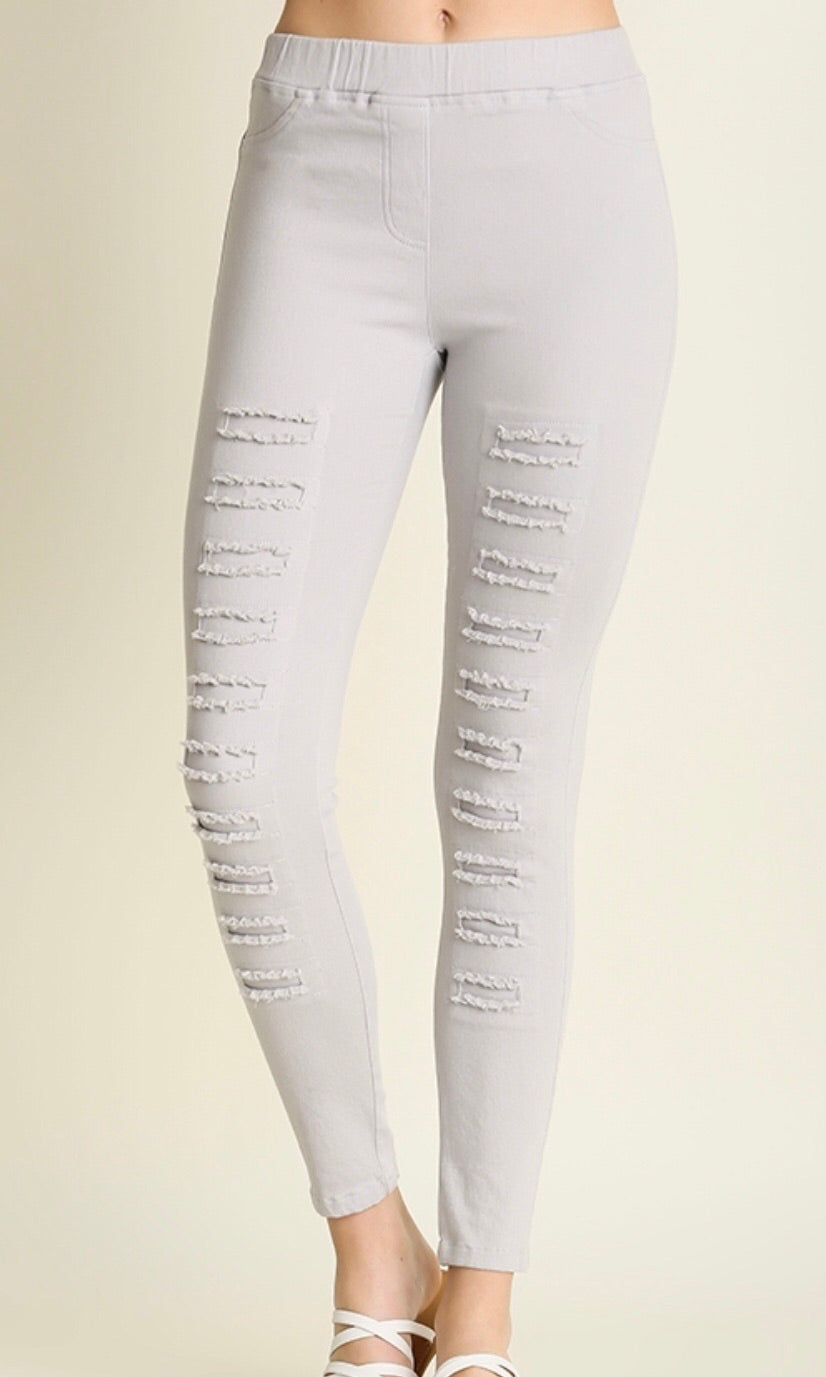 The Presley Pant in Silver