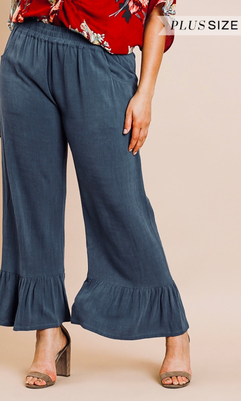 The Indigo Pant in Plus