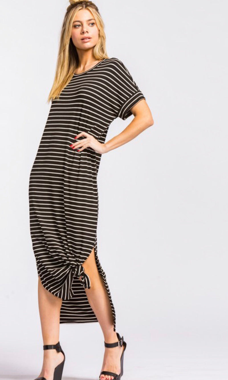 The Ainsley Stripe Maxi