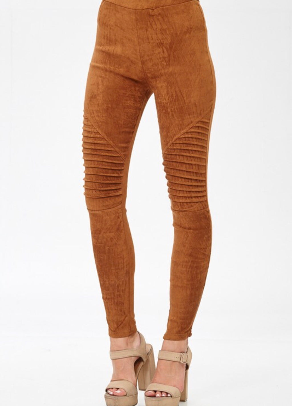 The Izzy Pant in Camel