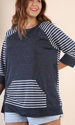 The Darby Top in Plus