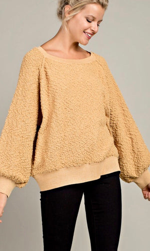 The Kylie Popcorn Pullover