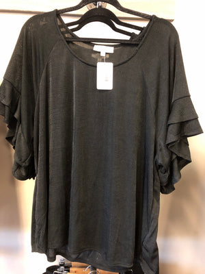 The Carley top in Black
