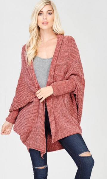 The Abbi Cardigan in Ginger