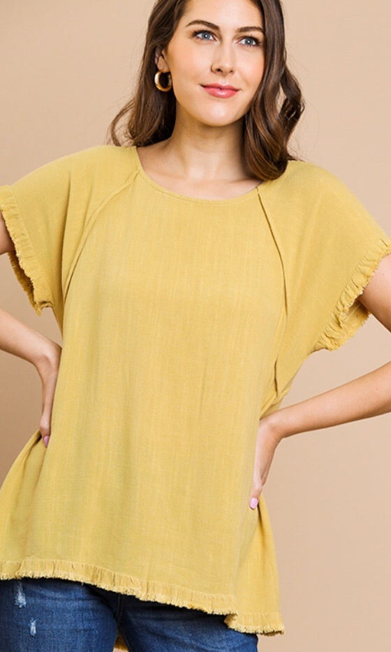 The Lindsay Top in Honey