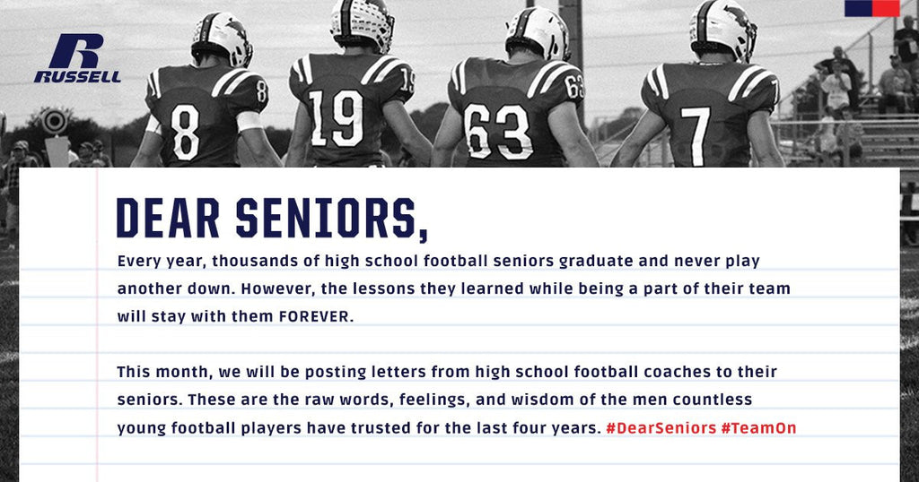 "Russell Athletic Introduces ""Dear Seniors"" Program, To Premiere New Commercial At Russell Athletic Bowl"