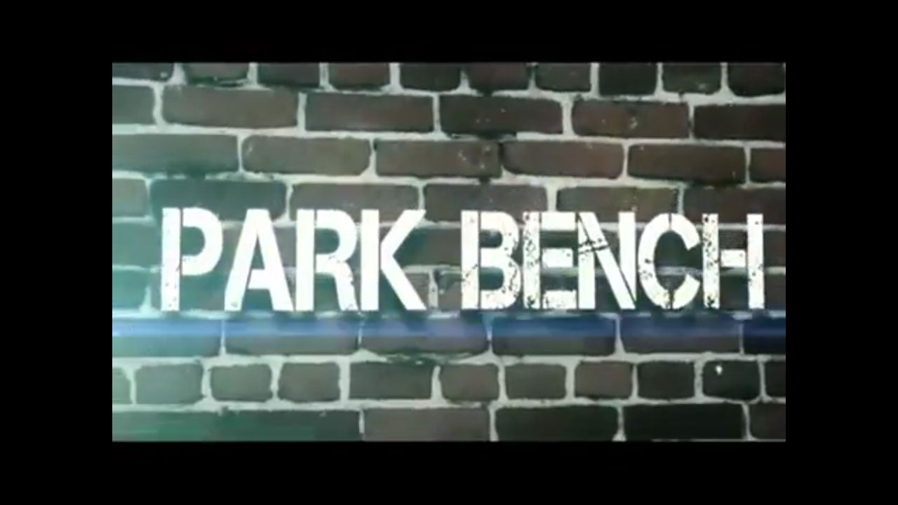Boot camp - Park bench