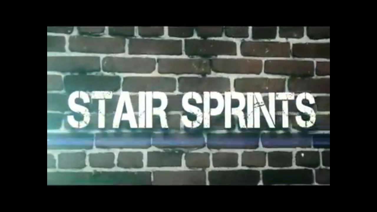 Boot camp - Stair sprints