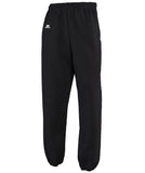 Russell Athletic Men's Dri-Power Closed-Bottom Fleece Pocket Pant - Black