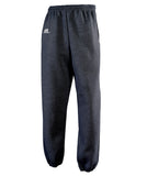 Russell Athletic Men's Dri-Power Closed-Bottom Fleece Pocket Pant - Black Heather