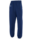 Russell Athletic Men's Dri-Power Closed-Bottom Fleece Pocket Pant - Navy
