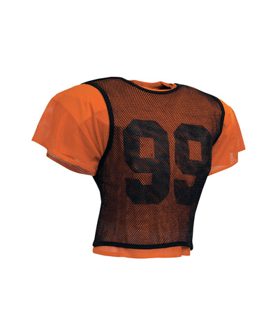 Russell Athletic Adult Football Scrimmage Vest - Orange