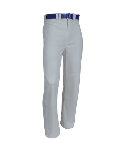 "The Russell Athletic Men's Bootcut Baseball Pants keep you cool and dry. These pants feature a 2 1/2"" deluxe elastic waistband with 4 front belt loops and single belt loops centered over 2 set-in back pockets. You'll be able to move easily and slide to any base knowing that these baseball pants have a double stitch crotch and double knees and a coverseamed back rise and side seams. Adult Standard Inseam: Size S-30"" M-31"" L-32"" XL-33"" XXL-34"""